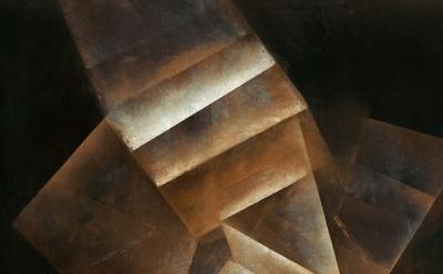 (detail) Fritz Winter, Stufungen, 1934, oil on paper on canvas, 100,5 x 75,5 cm