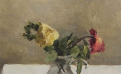 (detail) Jordan Wolfson, Still Life with Flowers (In Memory of Tamar B.), 2014 (
