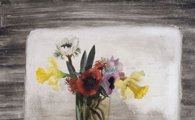 Christopher Wood, Flowers, 1930, oil on board, 330 x 400 mm (© Kettle's Yard)