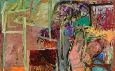 Gary Wragg, Studio III, 1989, oil on canvas, 77 x 88 inches (courtesy of the art