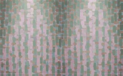 (detail) Rachael Wren, Overgrowth, 2013, oil on linen, 24 x 24 inches (courtesy