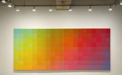 (detail) Installation: Sanford Wurmfeld: Color Visions 1966 – 2013 at Hunter Col