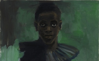 (detail) Lynette Yiadom-Boakye, A Passion Like No Other, 2012 oil on canvas 31 1