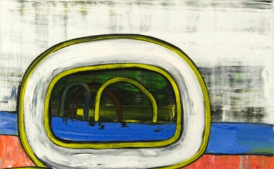 HK Zamani, Untitled 10, 2011, oil on canvas, 60 x 72 inches (courtesy of the art