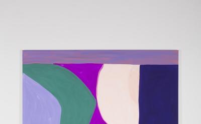 Marina Adams, Second Sun, 2016, acrylic on linen, 88 x 78 inches (courtesy of Salon 94)