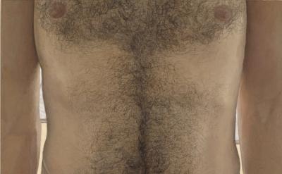 Ellen Altfest, Torso, 2011, oil on canvas, 10 1/4 x 13 13/16 inches (© the artis