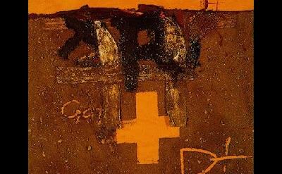 Antoni Tàpies, Creu | R, Mixed Media, 1975 (Col·lecció MACBA. Fundació Museu d'A