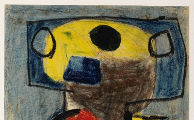 Karel Appel, Personnage, 1947 (courtesy of the Karel Appel Foundation / Adagp Pa