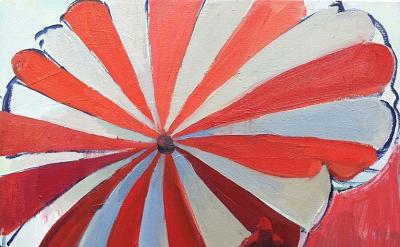Sarah Awad, Apex, 2012, oil on canvas, 22 x 24 inches (courtesy of James Harris
