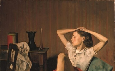 Balthus, Thérèse Dreaming,1938, oil on canvas, 59 x 51 inches (The Metropolitan