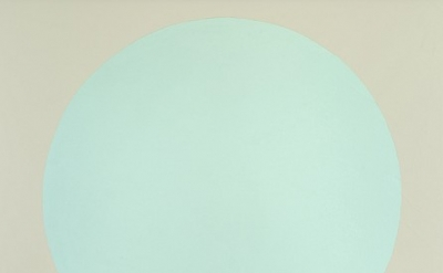 Walter Darby Bannard, Cifuentas #2, 1959, alkyd resin on canvas, 67 3/4 x 60 3/4