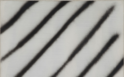 Martin Barre, 67-Z-21, 1967, glycerophtalic and acrylic paint on canvas, 20 3/4