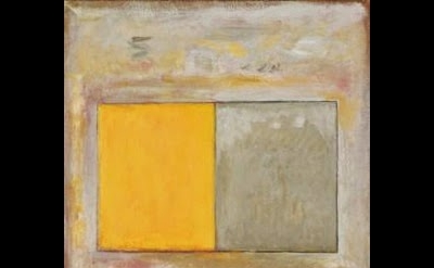 Jake Berthot, Untitled, 1977, oil and pencil on canvas, 40 x 24 inches