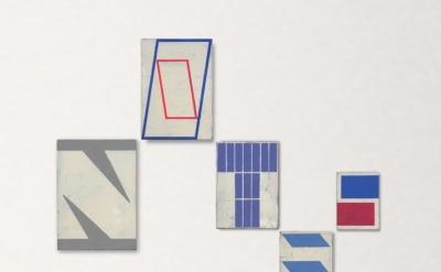 Alain Biltereyst, Untitled, acrylic on panel, sizes vary (courtesy of the artist