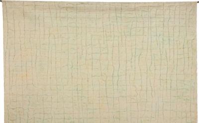 McArthur Binion, Circuit Landscape: No. VI, 1973, oil stick on canvas, 92 x 94 i