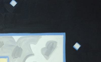 Gregory Botts, Madrid, Night Studio, All One, Falling #1, 2004-06, oil on canvas