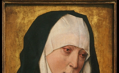 Workshop of Dieric Bouts, c. 1410–1475, Mater Dolorosa (Sorrowing Virgin), 1480/