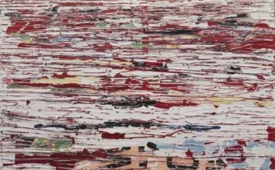 Mark Bradford, Habitual, 2009, 60 x 72 inches (152.4 x 182.9 cm) mixed media col