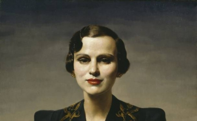 Gerald Leslie Brockhurst, Portrait of Margaret, Duchess of Argyll circa 1931 (©
