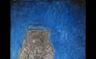 Gandy Brodie, The Astronaut, 1967–74, oil on canvas, 96 x 74 inches (courtesy St