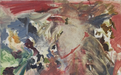 Cecily Brown, Untitled, 2006, oil on linen, 17 x 12.5 inches (courtesy of Maccar