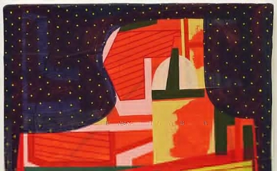 Tom Burckhardt, As of Yet Untitled, 2012, oil on cast plastic, 16 1/4 x 20 1/2 x
