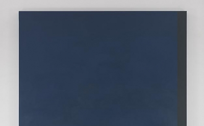 Byron Kim, Untitled (for B.L.), 2011, acrylic on canvas, 90 x 72 inches (courtes