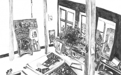 Maria Calandra, Luloff's Studio, 2013 (courtesy of the artist)