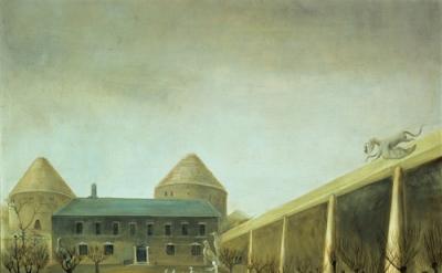 Leonora Carrington, Darvault, c1950, oil on canvas, 80 x 65 cm (collection Migue