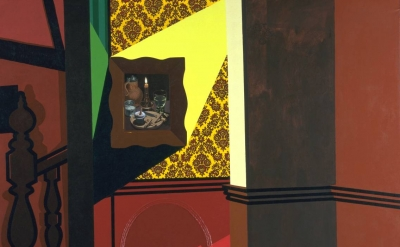Patrick Caulfield, Interior with a Picture, 1985-6 (© The estate of Patrick Caul