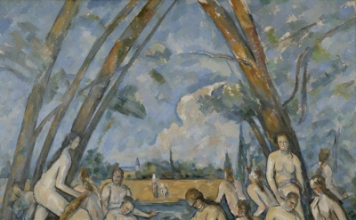 Paul Cézanne, The Large Bathers, 1906, oil on canvas, 82 7/8 x 98 3/4 inches (Ph