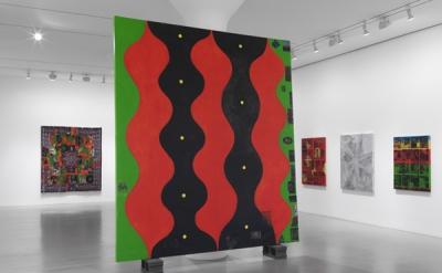 Installation View: Chris Martin at Mitchell-Innes & Nash, New York
