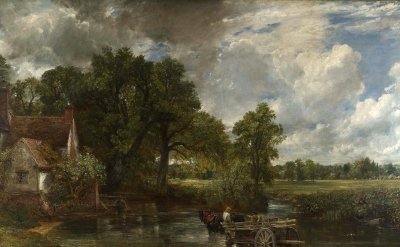 John Constable, The Hay Wain, 1821, oil on canvas (© The National Gallery, Londo