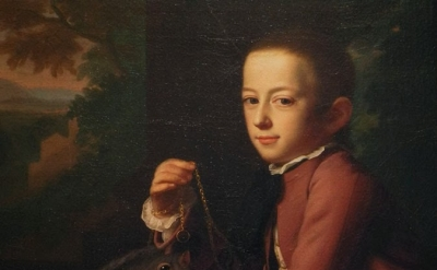 J. S. Copley, Daniel Crommelin Verplanck, 1771, oil on canvas, 49 1/1 x 40 inche
