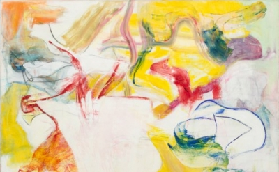 Willem de Kooning, Pirate (Untitled II), 1981, Oil on canvas 7 feet 4 inches x 6