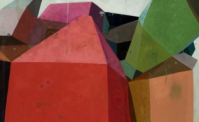 Deborah Zlotsky, Dutch Courage, 2011 Oil on canvas 36 x 36 inches (Courtesy Kath