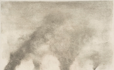 Edgar Degas, Factory Smoke, 1877–79, monotype on paper, 4 3/4 x 6 1/4 inches (Me
