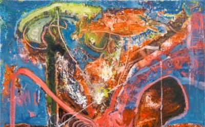 Steve DiBenedetto:, Offers of Refusal, 2014-15, oil on linen, 24 x 18 x .75 inch