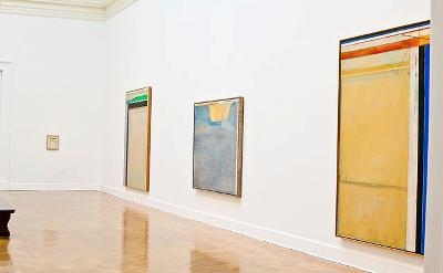 Installation View, Richard Diebenkorn: Ocean Park Series at the Corcoran Gallery