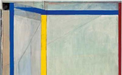 Richard Diebenkorn, Ocean Park #36, 1970, Oil on canvas, Orange County Museum of