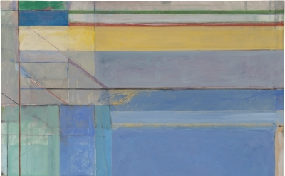 Richard Diebenkorn, Ocean Park #79, 1975 (Philadelphia Museum of Art, purchased with a grant from the National Endowment for the Arts and with funds contributed by private donors, 1977, 1977-28-1. © 2016 The Richard Diebenkorn Foundation)