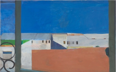 Richard Diebenkorn, Window, 1967 (The Iris & B. Gerald Cantor Center for Visual Arts at Stanford University, © 2016 The Richard Diebenkorn Foundation)