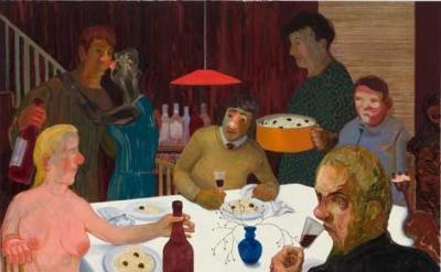 Nicole Eisenman, Sunday Night Dinner, 2009 (courtesy of the artist and Koenig &