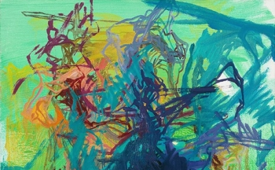 Elizabeth Gilfilen, Untitled, 2011, oil on canvas, 28 x 19.5 inches (courtesy Ga