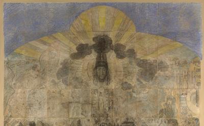 James Ensor, The Temptation of Saint Anthony, 1887 (Regenstein Endowment and the