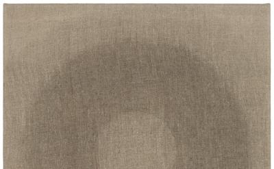 Helmut Federle, Ferner G, 2012, vegetable oil on canvas, 19 5/8 x 15 3/4 inches
