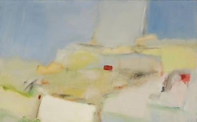 Jane Freilicher, Untitled Abstraction, c.1960, oil on canvas, 49 x 50 inches (co