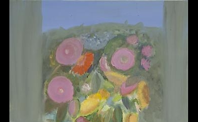 Jane Freilicher, Mixed Flowers, 2011, oil on linen, 18 x 14 inches (courtesy of