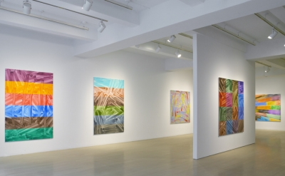 Installation View, Bernard Frize: Winter Diary at Pace Gallery, New York (courte