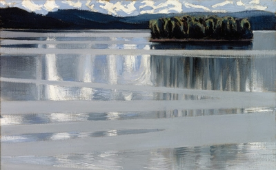 Akseli Gallen-Kallela: Lake Keitele, 1905, Finnish National Gallery / Central Ar